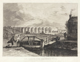 Viaduct over the Sankey Canal, Liverpool and Manchester Railway, 19th century.