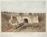 Primrose Hill Tunnel, London, 1840.