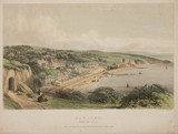 Dawlish from the Cliffs, South Devon Railway, 19th century.