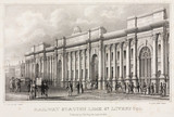 Railway Station, Lime Street, Liverpool, 1838.