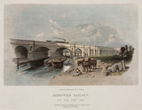 'Greenwich Railway. View from Surrey Canal', c 1850.