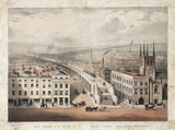 'This bird's eye view of the London Grand Junction Railway', c 1838.