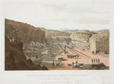 'An Interior View of the Haytor Granite Quarries', Devon, 1825.