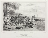 French sailors and aboriginals, Jervis Bay, New Holland, 1826-1829.
