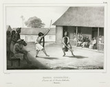War dance, Island of Buru, 1826-1829.