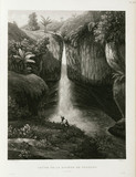 Waterfall on the river Tondano, Sulawesi, Indonesia, 1826-1829.