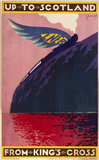 'Up to Scotland from King's Cros', LNER poster, 1923-1947.
