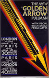 'The New Golden Arrow Pullman', SR poster, 1929.