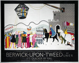 'Berwick-upon-Tweed', LNER poster, 1930.