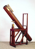 Newtonian reflecting telescope, 1783-85.