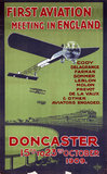 'First aviation meeting in England', Doncaster, 15-23 October 1909.