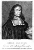 James Gregory, Scottish mathematician, c 1670.
