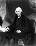 James Watt, Scottish engineer, 1815.
