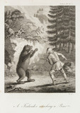 'A Finlander attacking a Bear', c 1798-1799.