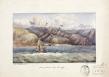 Town of Santa Cruz, view from the water, Tenerife, May 22, 1828.