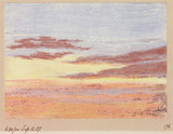 Sunset, 18.30, 12 September 1887.