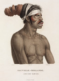 Aboriginal man, New Holland, 1801-1803.