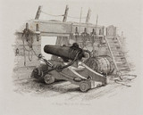 'A Brig of War's 12 Pounder Carronade', 1829.