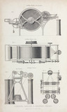 Carding engine and drawing frame, 1835.