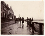 Whitby seafront, North Yorkshire, c 1905.