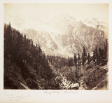 'Wanja Valley - Himalayas', c 1865.