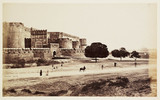 'Agra: The Fort. Amar Singh Gate, With The Taj In The Distance', c 1865.
