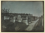 'Pompeii, The West Side of the Street of Tombs...', 1841.