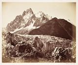 French Alps, c 1865.