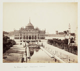 'The Palace of Light, Husainabad, Lucknow', c 1865.