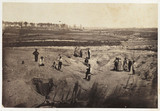 'Crater, Confederate Lines, Petersburg Virginia', USA, 1867.