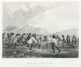 'Ball Play on the Prairie', North America, 1847.