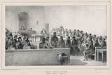 General assembly of the Boyars, Bucharest, Romania, 15 July 1837.