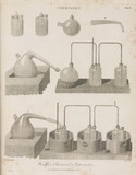 'Woulfes Chemical Apparatus', 1801.