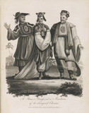 'A Prince, a Princess, and a Mandarin of the aboriginal Chinese', 1801.