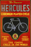 """'Hercules chromium plated cycle', poster, c 1930s."""