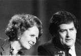Margaret Thatcher and Nigel Lawson, British politicians, c 1980s.