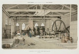 Zinc rolling-mill, St Louis, near Bray, France, 1855.