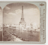 Exposition Universal from the Right Bank of the Seine, Paris', 1900.