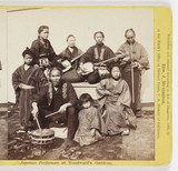 Japanese Performers at Woodward's Gardens', 1869.
