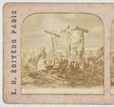The crucifixion, c 1880.