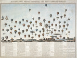 The history of balloon flights, 1851-1852.