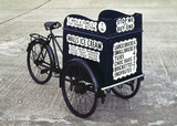 Box-type delivery tricycle, 1938.