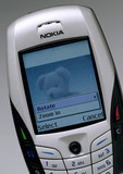 Nokia mobile phone, 2004.
