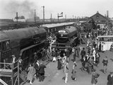 Ilford Railway exhibition, Essex, 1934.