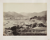 Nagasaki (the Bund and part of the Foreign Settlement), Japan, c.1864