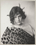 'Woman in Leopard Skin (Chloe)' [Ethel Reed], c 1900.