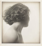 Girl's head turned, c 1927.