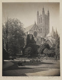 Canterbury Cathedral, from the Dean's Garden, 1891.