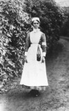VAD nurse, First World War, 1914-1915.