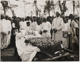 Funeral of Dr Annie Besant, Madras, India, 1933.